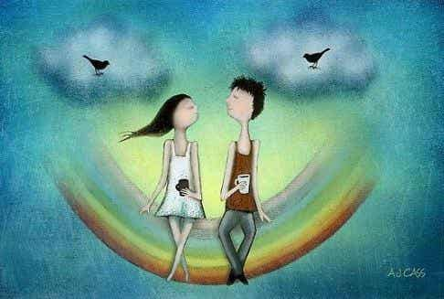 Ole niiden kanssa, jotka rakastavat sinua itsesi vuoksi