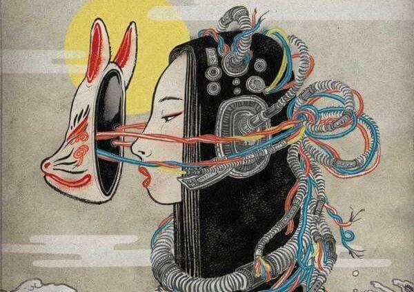 Nainen ei muutu vaan käyttää naamiota