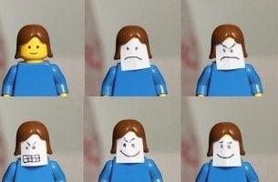 Lego-ukon tunteita