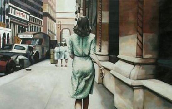 Naisen tulee lähteä