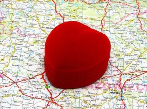 sydän kartalla