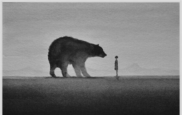 karhu ja ihminen