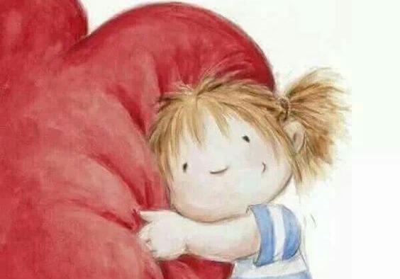 Sydän tarvitsee hellyyttä, hyväntahtoisuutta ja halauksia