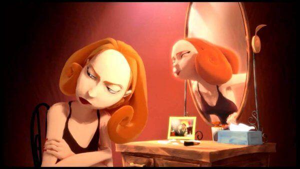 sarjakuva peili