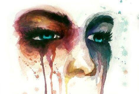 surulliset kasvot