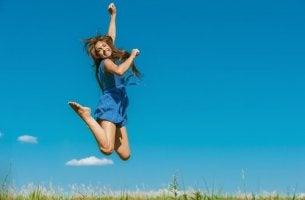 Hyppää olosi positiivisemmaksi