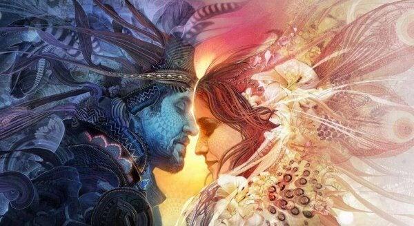 Tantra on tavallisten rakastavaisten muuttamista kaksoissieluiksi