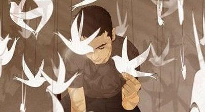 Mies ja linnut