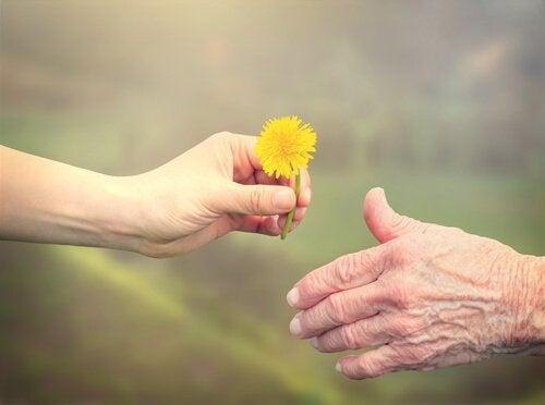 Kukka kädestä toiseen