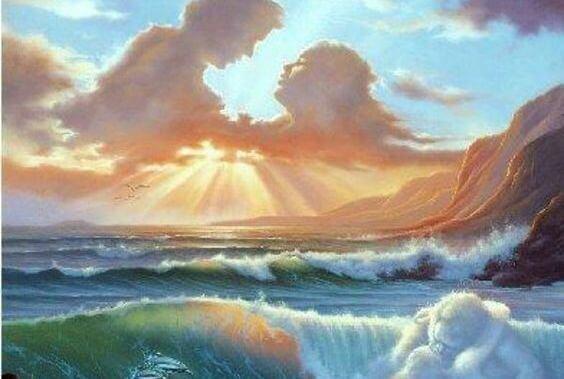 Rakkaus pilvissä ja meressä