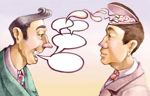 Puhe toisen aivoihin