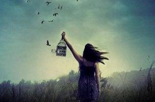Rakastaminen ja vapaaksi päästäminen