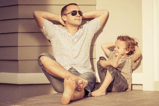 Isä ja poika
