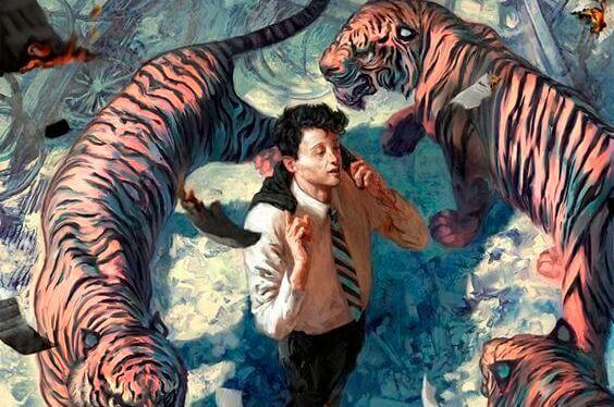 Mies ja tiikerit