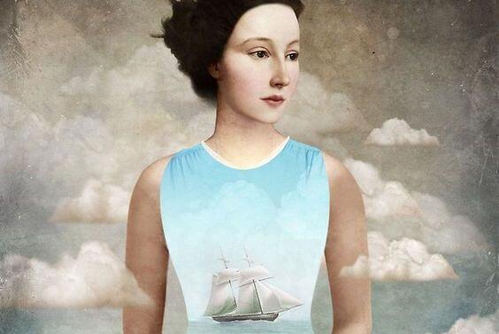 Nainen ja laiva