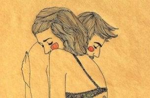 Hellyys pariskunta halaa