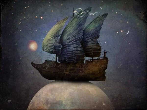 Laiva kuun päällä