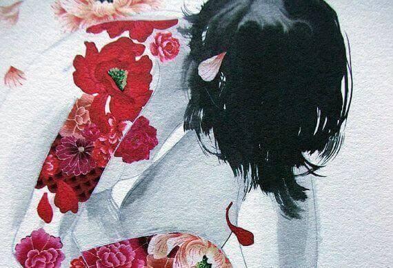 Ruusut naisen kehossa