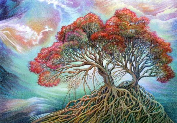 Puu myrskyssä