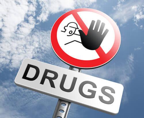 ei huumeille