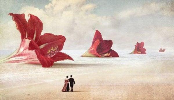 jättimäiset kukat