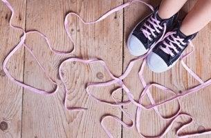 ongelmien ratkaiseminen kengännauhat