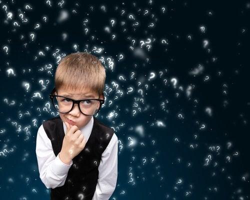 kysymykset lapsen päässä