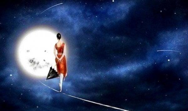 Tähdet ajattelevat meidän olevan ohikiitäviä, eivät itsensä