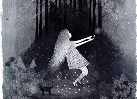 pelko metsässä