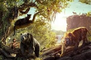 viidakkokirjan eläimet