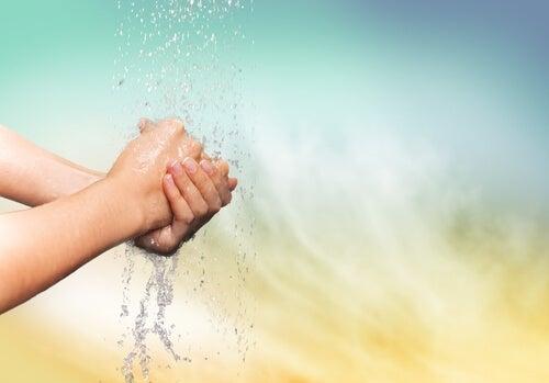 käsien peseminen