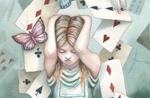 korttitalon kaatuminen