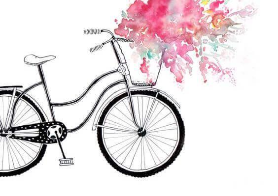 pyörä ja värit