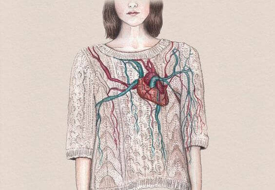 naisen sydän