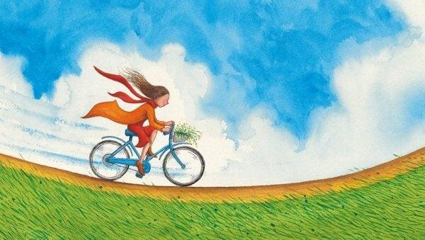 sankari pyörällä