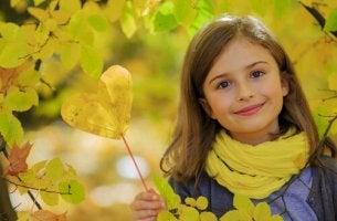 ystävällinen lapsi