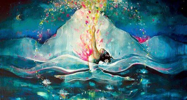 Kypsän naisen sydän on salaisuuksien syvä meri