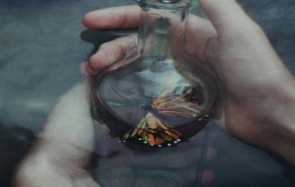 perhonen pullossa