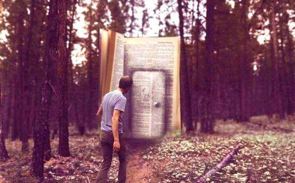 kirjassa ovi