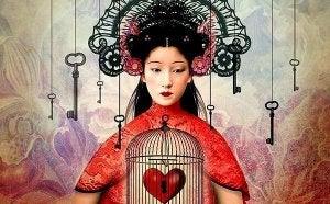 sydän häkissä