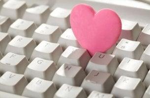 näppäimistössä sydän