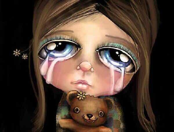 """Älä koskaan sano lapselle """"älä itke"""""""