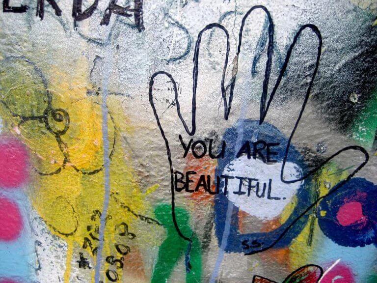 olet kaunis