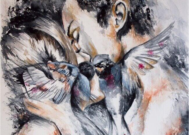 Parit suutelevat