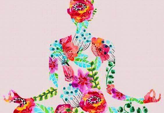 kukkanaisen meditointi
