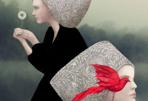 Naiset ja punainen lintu