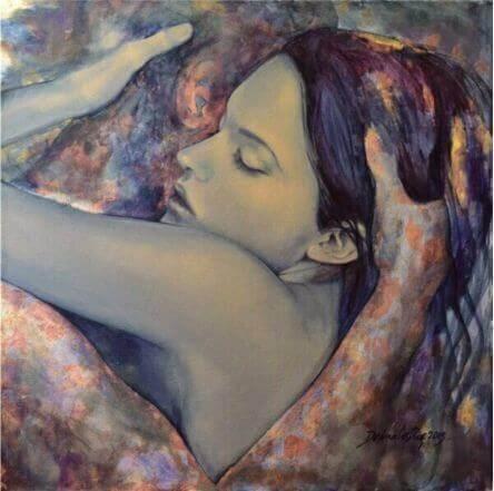 kiihkeä halaus