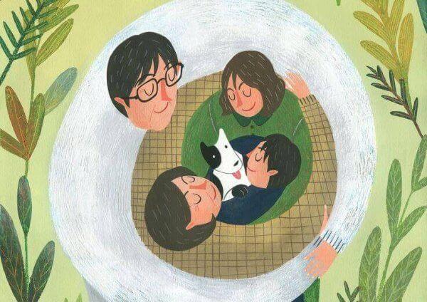 Erinomaiset vanhemmat innostavat lapsiansa