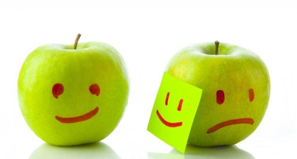 et saa tuomita tunteitani omena
