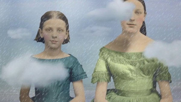 nainen ja tyttö